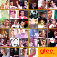 Glee - Icon Pack no.2 by Kumagorochan