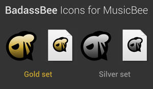 BadassBee Icons for MusicBee