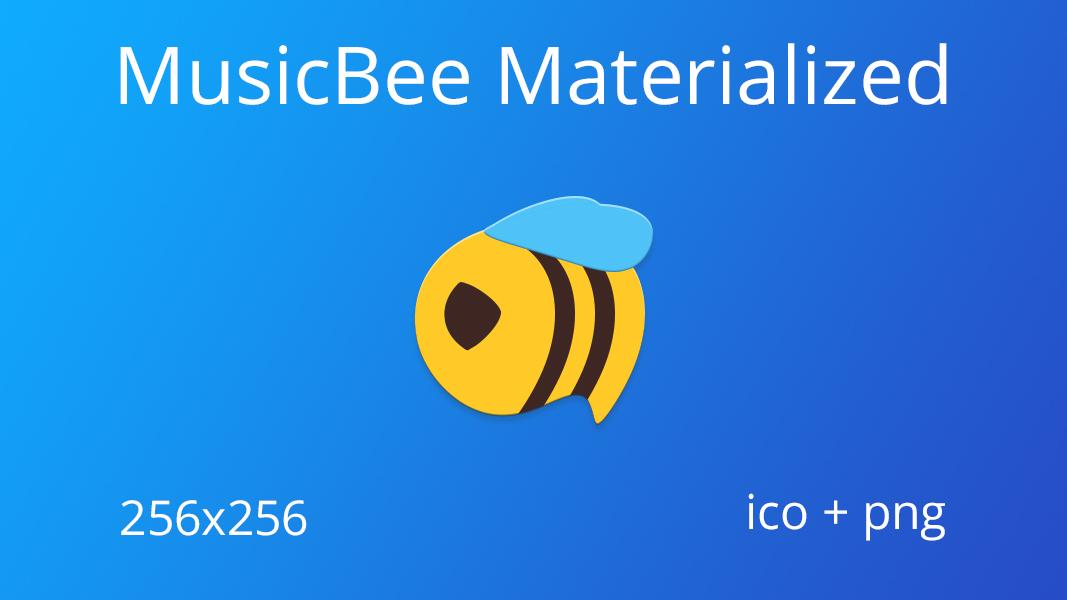 MusicBee Materialized by JMoss90 on DeviantArt