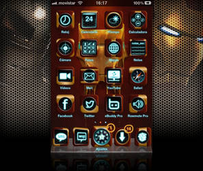 Iron Man fan Theme for iPhone