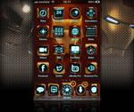 Iron Man fan Theme for iPhone