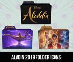 Disnep Aladdin 2019 Movie Folder Icons by AKRB1998