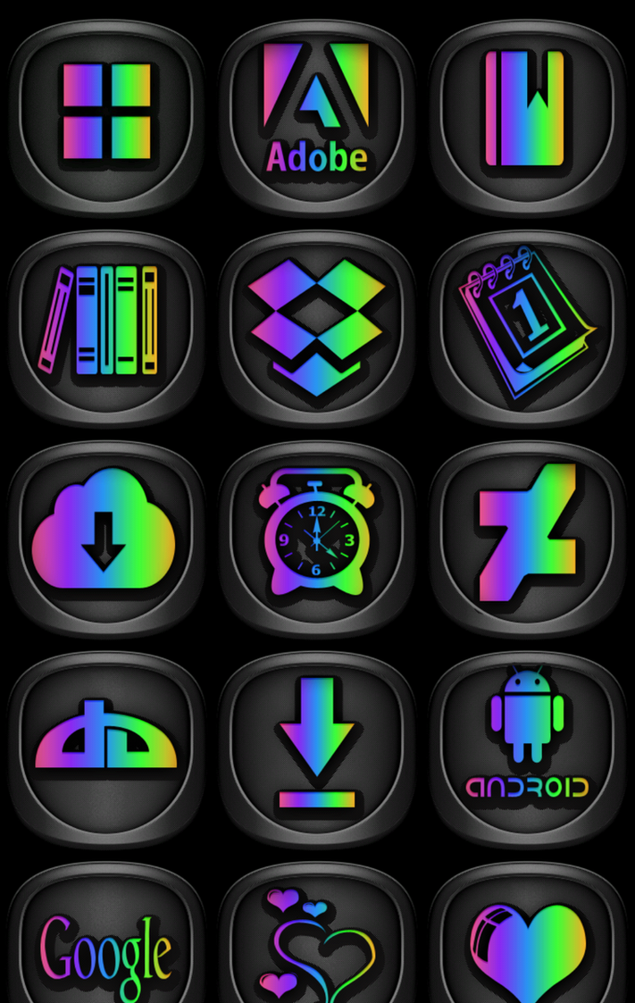 Boss Pride Icon Pack by gravitymoves