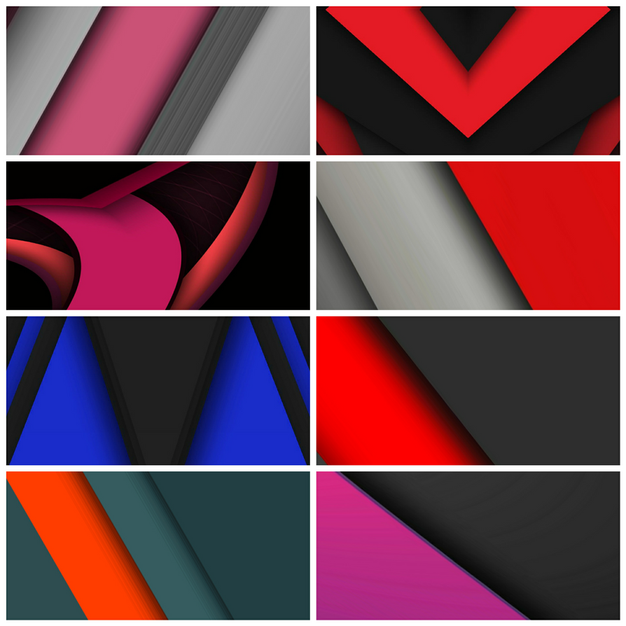 Material Wallpaper pack by Gravitymoves by gravitymoves