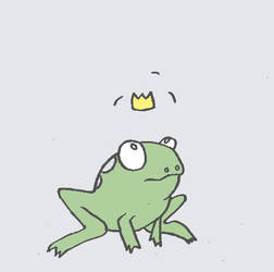 frog prince ANIMATION,' by Farbenfrei