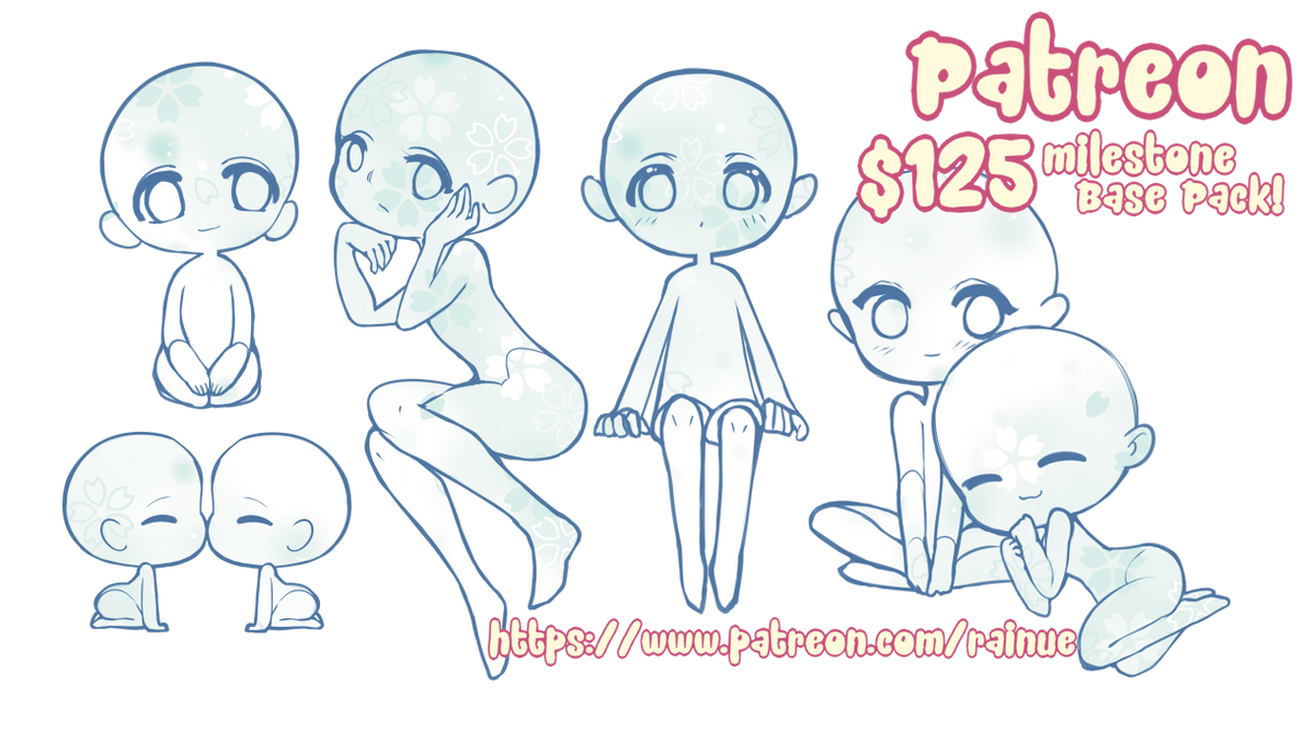 $125 Milestone Patreon Base Pack! [P2U-560pts] by rainue