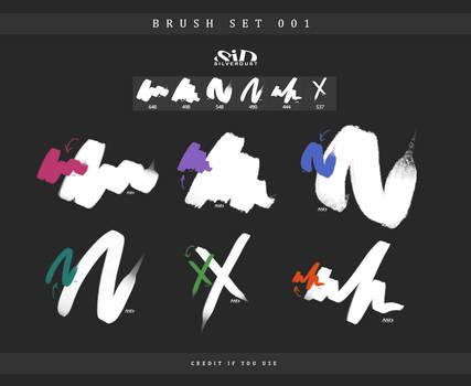 Brush set 001 | by  SilverDust