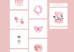Texture pack - Light Rose  SilverDust