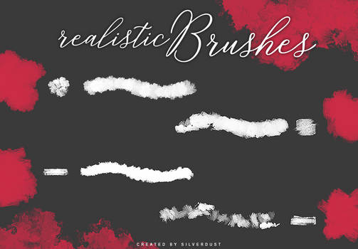 Realistic Brushes | by  SilverDust