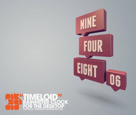 Timeloid : Rainmeter Word Clock