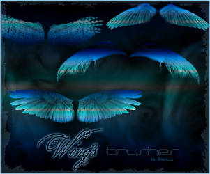 Wingsbrushes PS by BlaclyStuff