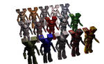 Clan Elemental Camo Pack