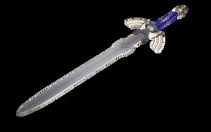 Low-Poly Master Sword by lady-die