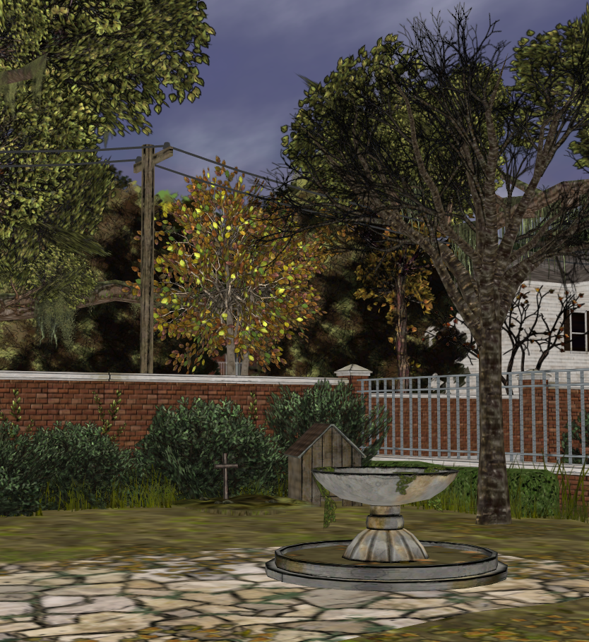 Manor Exterior   TWD S1 E4 (XPS) By AKandrov ...