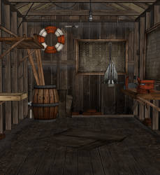 Cabin Shed - TWD S2 E1 (XPS)