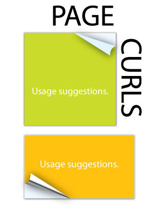 Page Curls for Illustrator by metdude