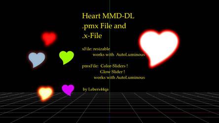 MMD Hearts by Leberx44qa