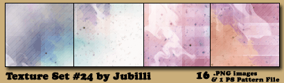 Texture Set 24 by Jubilli