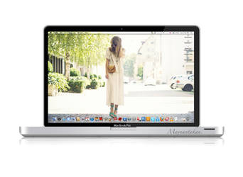 MacBook Pro .psd file by Maysunny