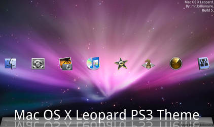 Mac OS X Leopard PS3 Theme