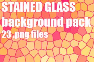 Stained glass dA background pack by UszatyArbuz