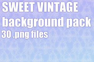 Sweet vintage dA background pack