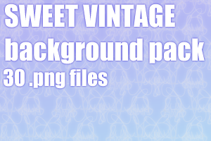 Sweet vintage dA background pack by UszatyArbuz
