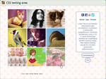 Custom box: Art vs Artist (CSS)
