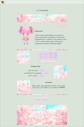 NON-CORE 'custom' box: Sakura by UszatyArbuz