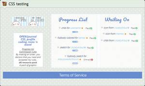 Custom box: Perfect Lists (CSS)
