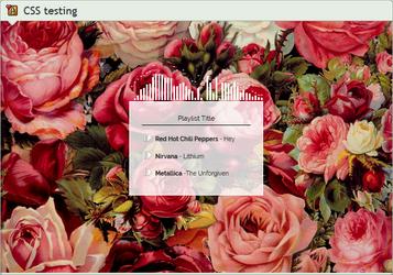 Custom box: Playlist box (CSS) by UszatyArbuz