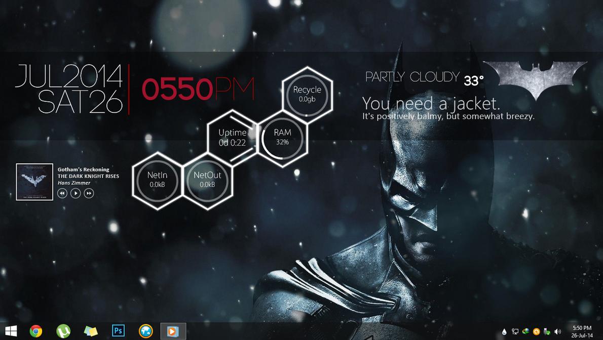 Arkham Desktop by PratLegacy