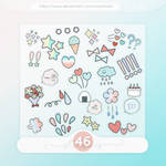 #19 PNG STICKERS PACK [Random]