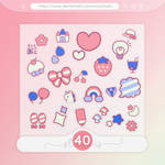 #20 PNG STICKERS PACK [Random]