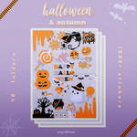 ''+. MEGA PACK_Halloween and Autumn Stickers .+''