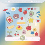#66 PNG STICKERS PACK [Random]