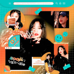 #776 PNG PACK [(G)I-DLE Soojin - 1st Look]