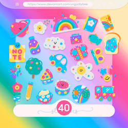 #71 PNG STICKERS PACK [Random]