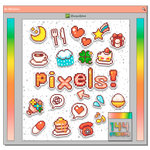 #72 PNG STICKERS PACK [Pixel Stuff]