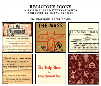 Religious Icons by madamtorsion