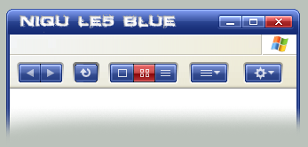 Niqu LE5 blue styler toolbar by iroyuki