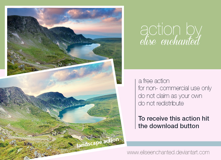 Landscape action