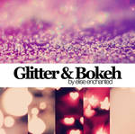 Glitter and Bokeh textures