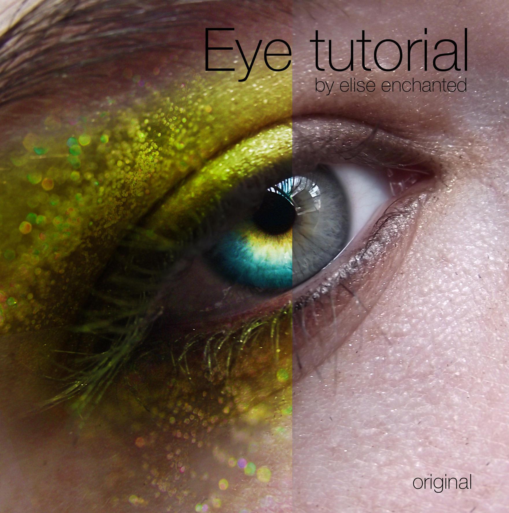 Eye tutorial by EliseEnchanted