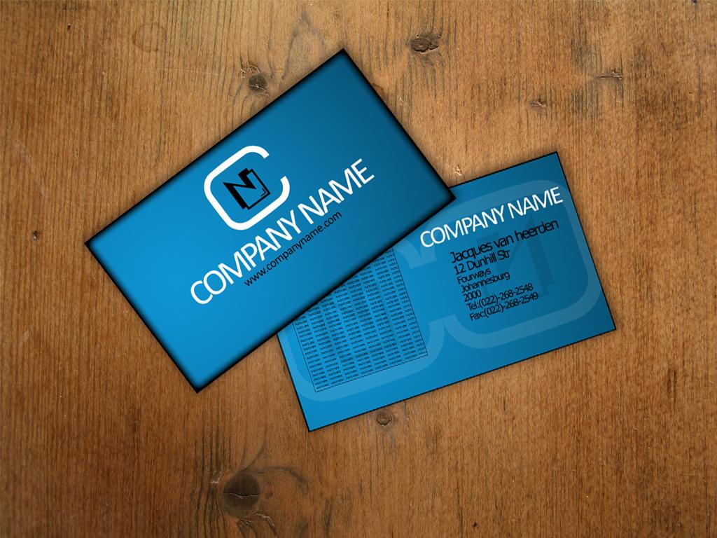 Business Card template 1 by An1ken