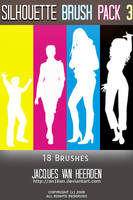 Silhouette Brush Pack 3 by An1ken