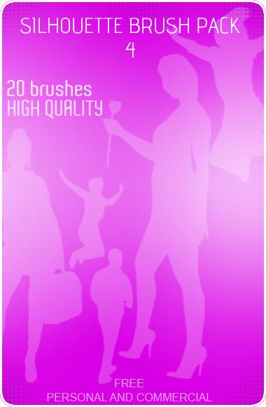 Silhouette Brush Pack 4