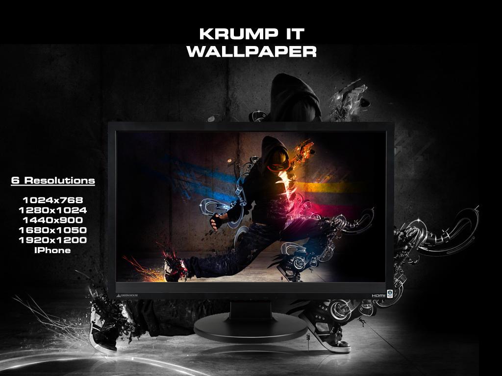 Krump It - Wallpaper by An1ken