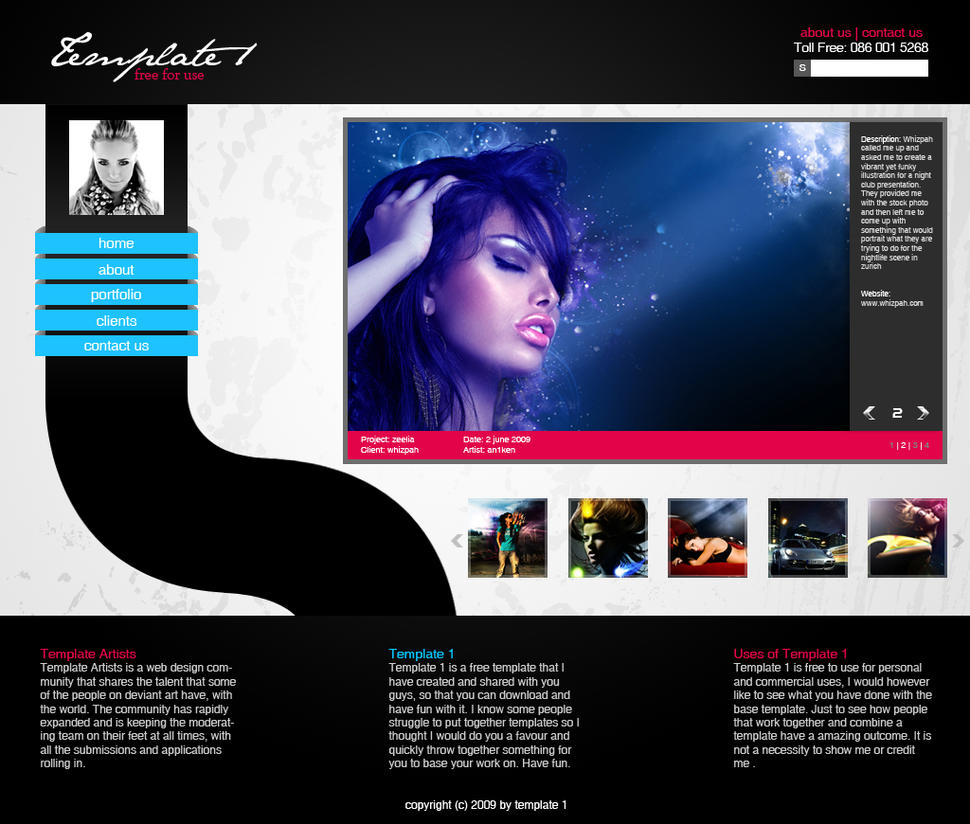 Professional writing service website templates