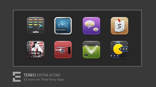 Teneo Icons by kawsone